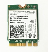 SSEA for Intel Dual Band Wireless-N 7260 AN 7260NGW NGFF 802.11AN WIFI Bluetooth BT4.0 Card for HP SPS 717379-001