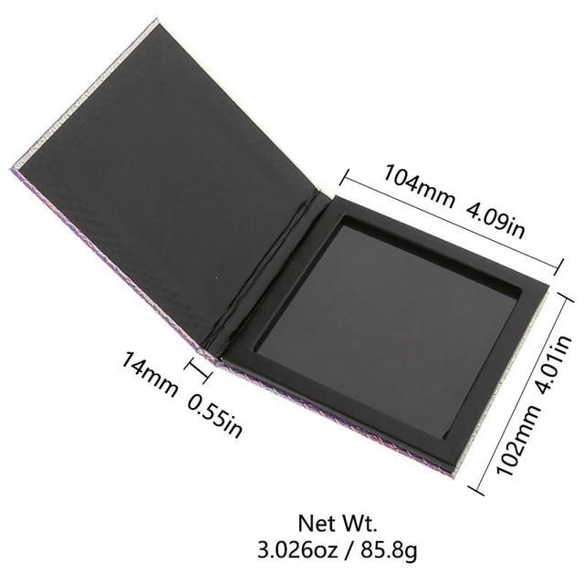 PHOERA Eyeshadow Magnetic Attraction Storage Box Case Makeup Pallete Eye Shadow Empty Magnetic Palette Glitter Patterns TSLM1 6
