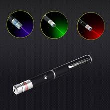 1Pcs 5MW 650nm Red /Blue /Green Violet Laser Pen Powerful Laser Pointer Presenter Remote Lazer Hunting Laser Bore Sighter(China)