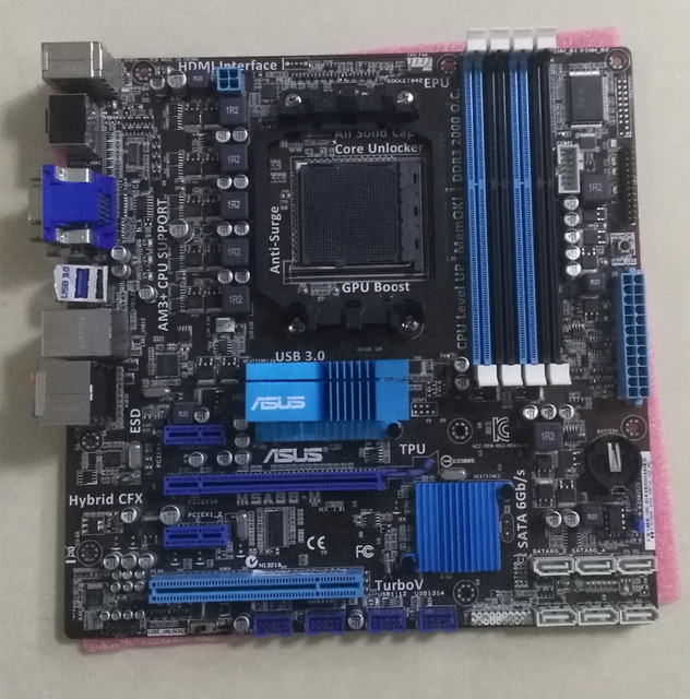 Asus M5A88-M AMD Chipset XP
