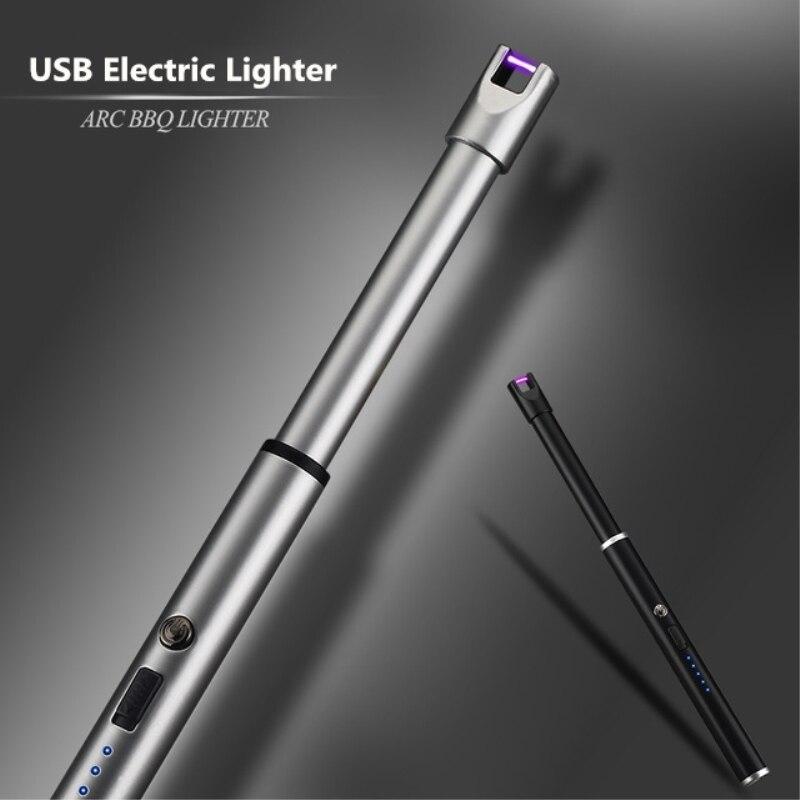 Neue Arc Puls BBQ Leichter USB Elektronische Leichter Frauen Küche Gadgets Tragbare Funktionale Kerze Leichter Zigarette Rauchen Werkzeug
