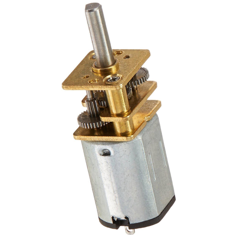 JA12-N20 Modell DC 12 V 100 RPM Drehmoment Getriebe Micro Getriebe Motor Silber + Gold