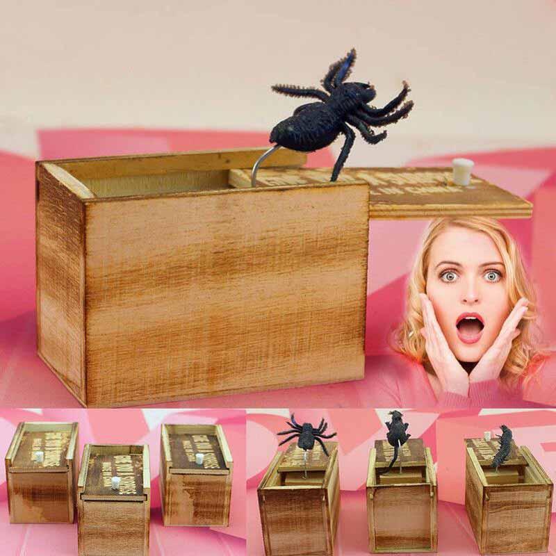 Caja MADERA ECOLÓGICA sostenible broma de insecto risas aseguradas BTC bitcoin aceptamos