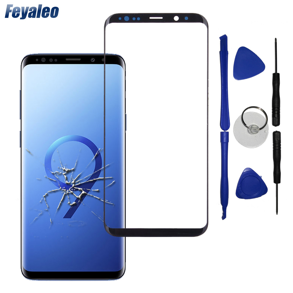S9Plus Front Panel For Samsung Galaxy S8 S9 Plus G950 G960 N950 Note 8 Touch Screen Sensor Digitizer S9+ LCD Display Glass Cover