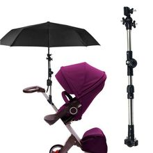 Mount Stand Stroller Accessories Baby Umbrella Holder Adjustable Cart Parasol Shelf Cycling Bike Umbrellas Bracke