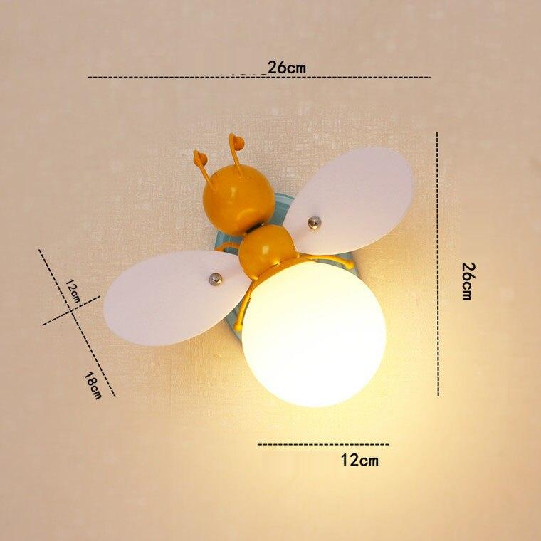 მულტფილმი Iron Firefly & Bee Wall - შიდა განათება - ფოტო 6