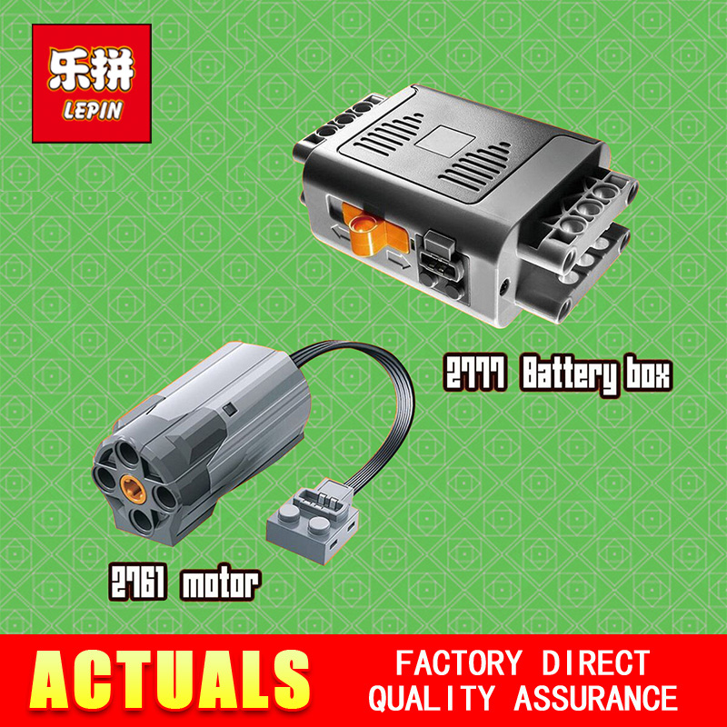 New Lepin 2777 Genuine Techinc Series The Power Function Battery Box Piece 8881 Building Blocks Bricks Educational Toys Model new fx3u 64ccl special function blocks
