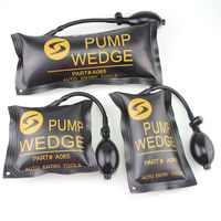 3pcs Lot Diagnostic Car Vehicle Tool KLOM PUMP WEDGE Auto Air Wedge Car Door Repair Tool