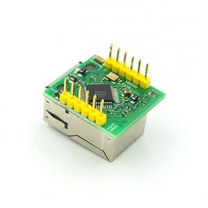 Image 3 - 5PCS/LOT USR ES1 W5500 Chip New SPI to LAN/ Ethernet Converter TCP/IP Mod