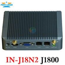 Micro pc мини-компьютер J1800 двухъядерный mini pc Bay trial компьютер j1800