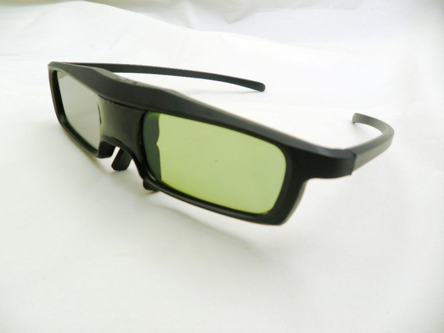 3pc/lot 3d active shutter dlp link glasses for optoma xe151 hd5101 dlp projector 3d glasses