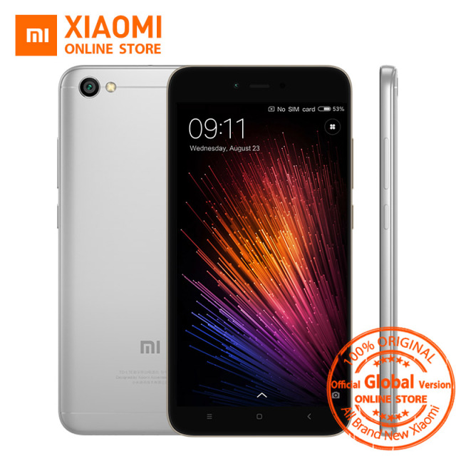 Global Version Xiaomi Redmi Note 5A 5 A 2GB 16GB Mobile Phone Snapdragon 425 Quad Core CPU 5.5 Inch 13.0MP 3080mAh