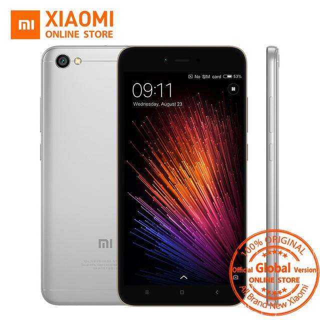 Global Version Xiaomi Redmi Note 5A 5 A 2GB 16GB Mobile Phone Snapdragon 425 Quad Core CPU 5.5 Inch 13.0MP 3080mAh