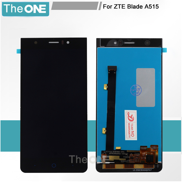 Touch screen+ lcd screen display assembly replacement for ZTE Blade A515 A511 Smartphone Free shipping +tracking number zte blade a515 черный