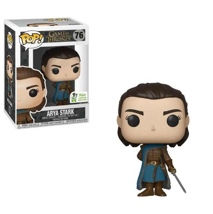 Funko POP Song Of Ice And Fire Game Of Thrones Aria Stark Collectible Model Toys PVC Action Figure Kids Toys image