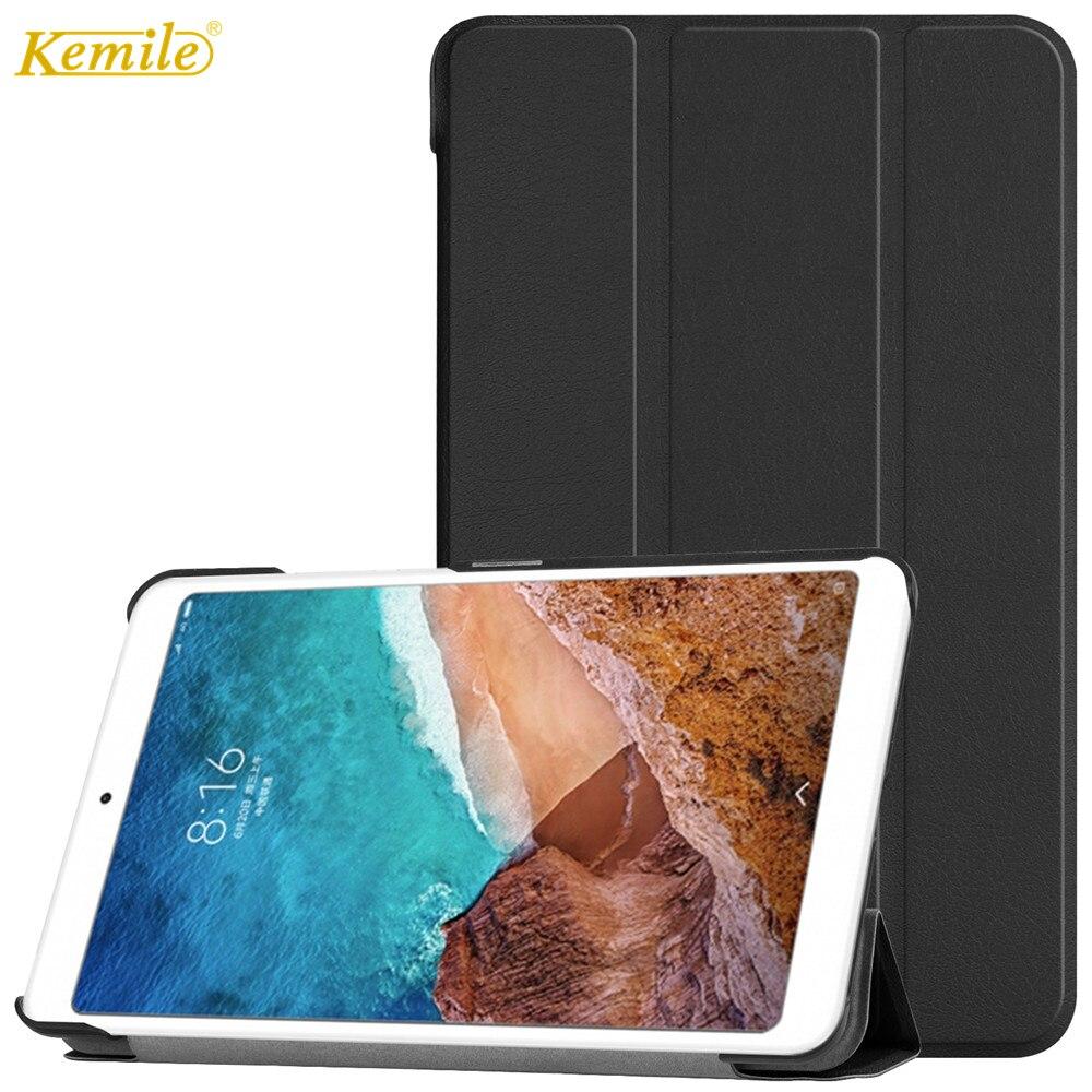 Cas pour xiaomi mi pad 4 8 , ke mi le Ultra Mince Léger Stand réveil smart Auto sommeil Portable Couverture pour xiaomi mi pad 8 tablet