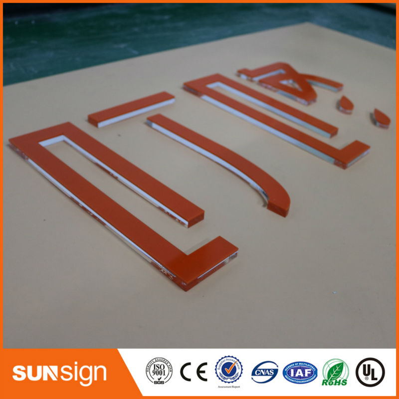 Sunsign Custom Decoration Acrylic Indoor Signage