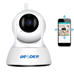 BESDER Câmera Full HD 1080 P IP Sem Fio Da Câmera de Segurança Em Casa HD 720 P Monitor Do Bebê Visão Noturna CCTV Wi-fi câmera 1 M/3 cabos de 3M