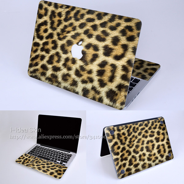 """Decal Skin for Apple Retina Macbook Pro 13.3""""inches-leopard print-Super-thin Protector Sticker easy application clean removal"""