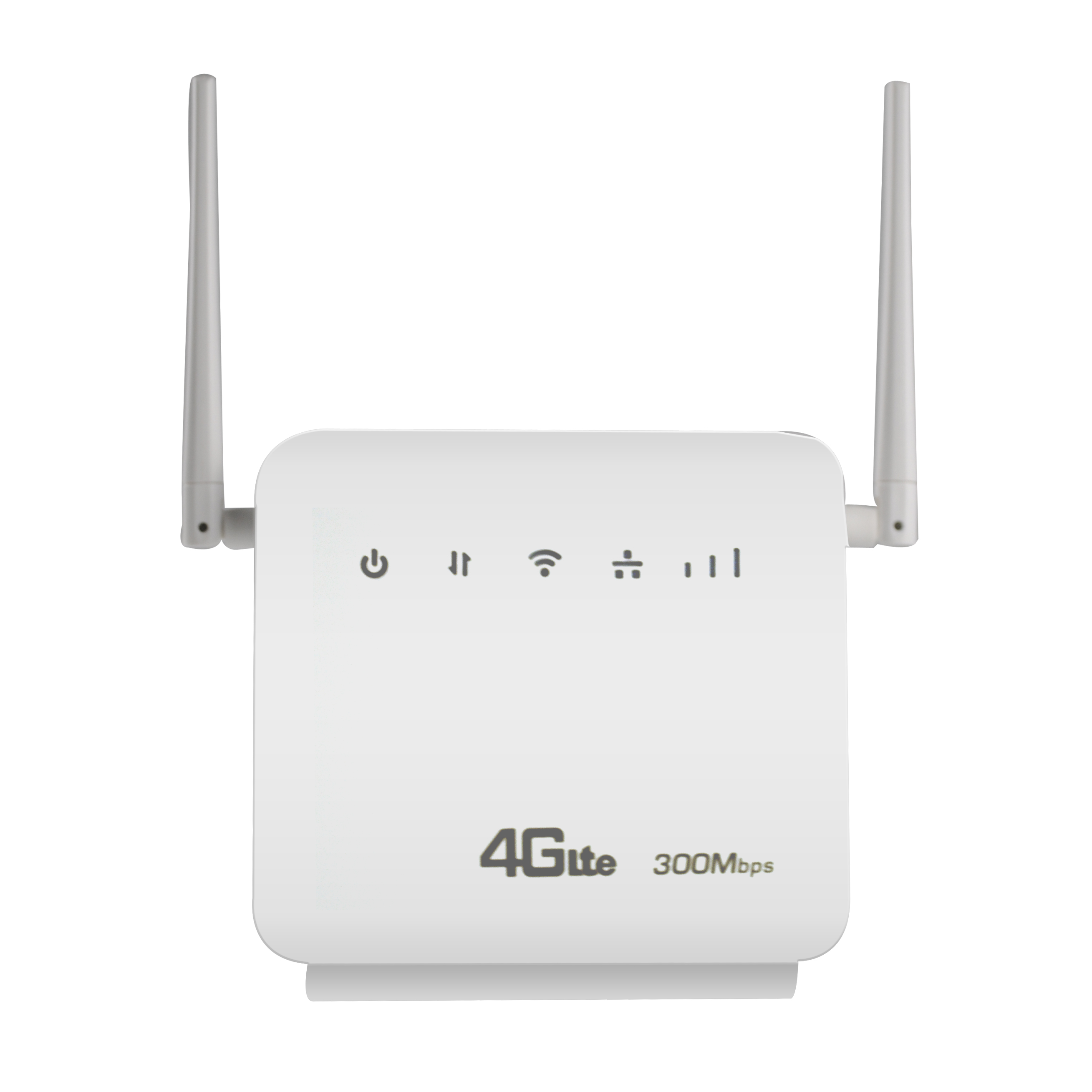 Unlocked 2.4GHz 300Mbps Wifi Routers 4G LTE CPE Mobile Router,Two LAN Port Support SIM Card And Europe/Asia/Middle East/Africa