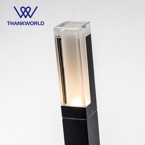 do gramado ip65 aluminio jardim luminaria de