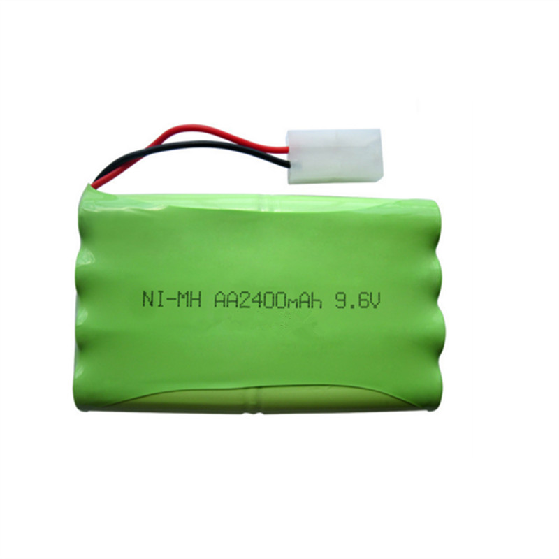 9.6V 2400mAh Remote Control toy electric lighting lighting security facilities AA battery Ni-MH battery group ...