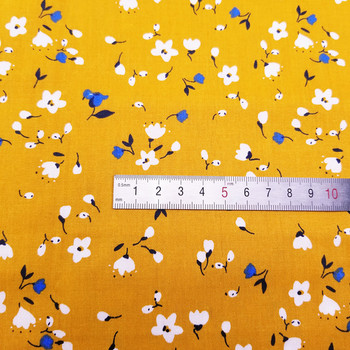 50x40cm Flower Series Cotton fabric DIY sewing uphostery craft for Baby&Children Quilting Sheets Dress Material 2