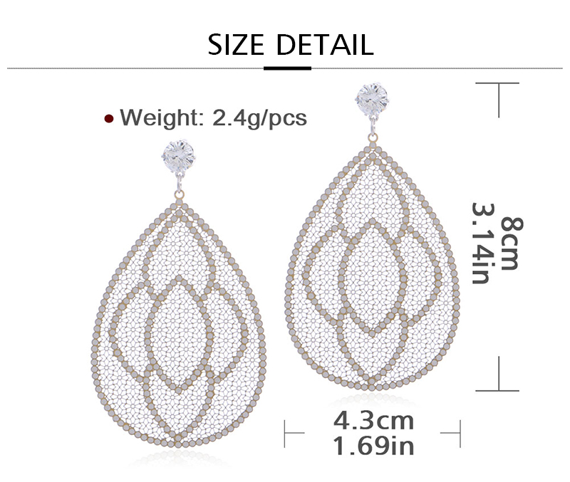 HTB1i8p8aPzuK1RjSspeq6ziHVXa6 - Badu Big Filigree Statement Earring for Women Rhinestone Dangle Drop Earrings Vintage Fashion Jewelry
