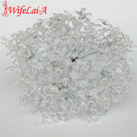 High Quality Acrylic Crystal Wedding Bouquet Bridesmaid Bridal Ramos De Novia Wedding Flower Holder DIY W5009