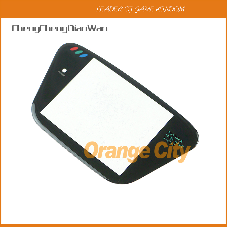 ChengChengDianWan New Protective Screen Lens for Sega Game Gear game console screen Plastic Protective panel 2pcs/lot