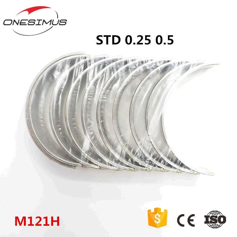 STD + 0.25 + 0.5 OEM ME999384 M121H ana rulmanlar için krank mili tahriki mit- 4D31T Canter Canter 60