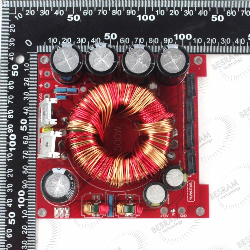 ФОТО 12V to +-45V 500W power supply Board for Amplifier in Car 3300UF/50V*4