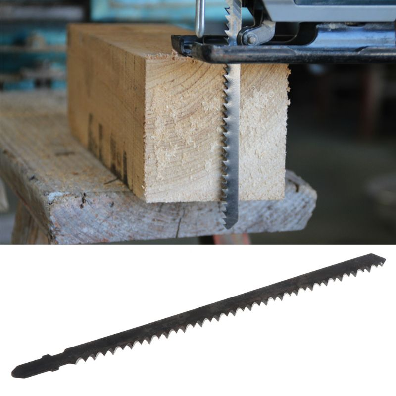 Newest 1pcs 180mm HCS Reciprocating Saw Blade For Hard Wood Fast Cutting Woodworking Safety Tool For Home DIY
