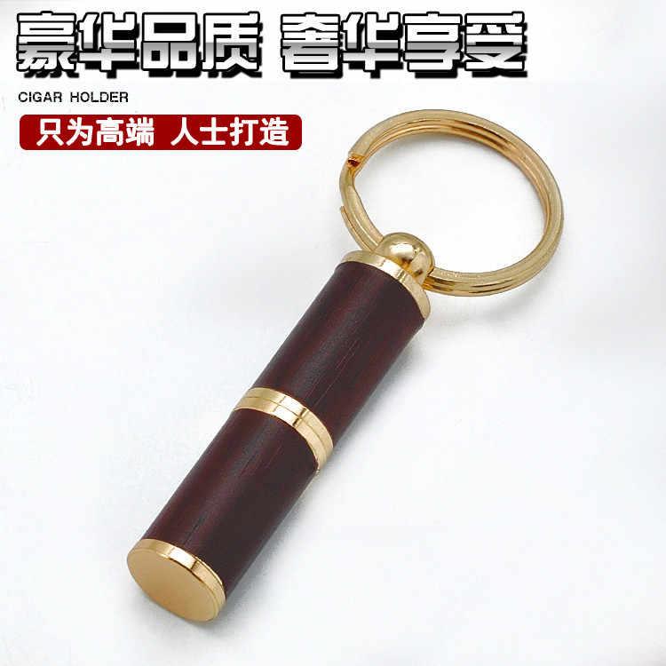 Новый 1 шт. COHIBA сигары удар дерево + металлический сверлильный нож Каттер для сигар аксессуары для сигар черный/красный