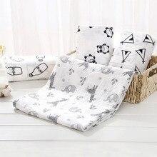 Детское одеяло s для новорожденных, муслин, пеленка, хлопок, Inbakeren, двойные марлевые пеленки, мягкое детское одеяло для кровати