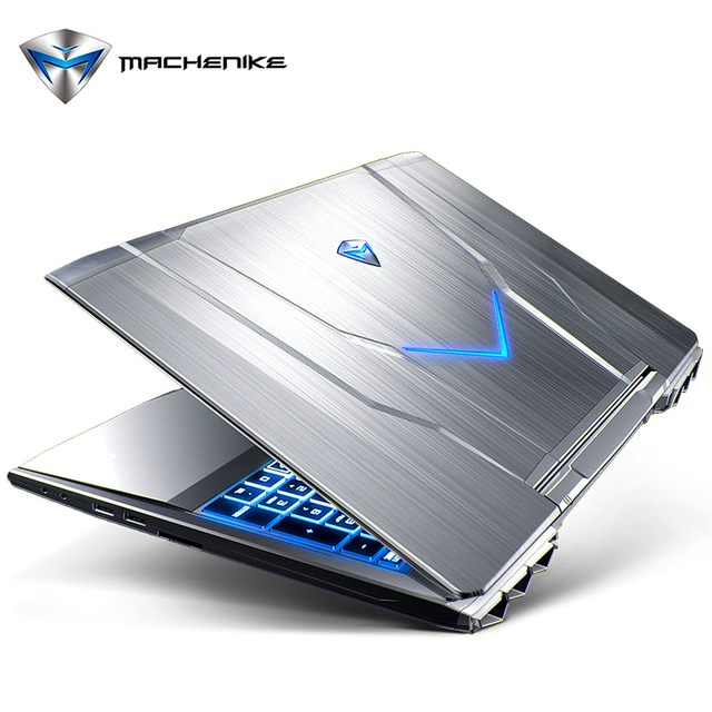 "Machenike F117 F6K 15.6"" FHD Gaming Laptop RGB Backlit Keyboard Notebook i7-7700HQ GTX1060 6GB Video RAM 8G RAM 256G SSD 1TB HDD"
