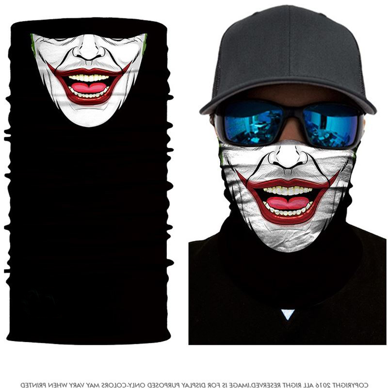 Funny 3D Motorcycle masks men's Riding sport CS mask sports skiing face windproof dustproof Balaclava Hunting Fishing scarf mask