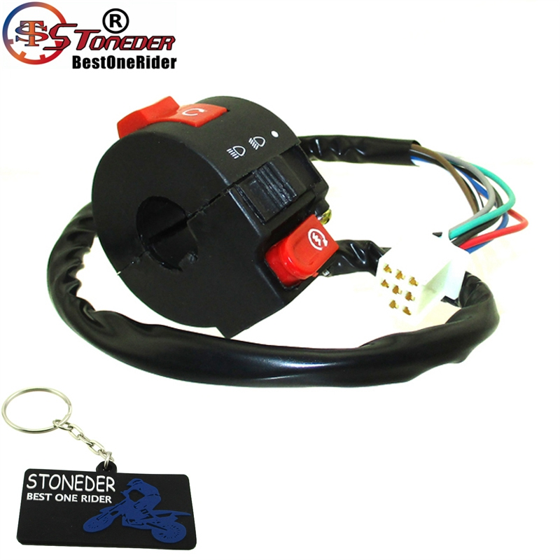 X-PRO Taotao Left Switch Assembly for 50cc 70cc 90cc 110cc 125cc ATVs