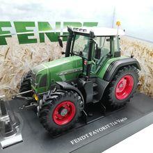 UH 4890 1:32 FENDT FAVORIT 716 Vario сельскохозяйственные тракторы литая модель автомобиля игрушки для детей Детские игрушки