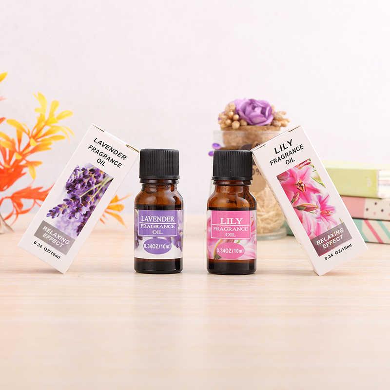 10 мл чистые эфирные масла для ароматерапии диффузоры эфирные масла Органическое Тело снимает стресс уход за жирной кожей помогает сна TSLM1