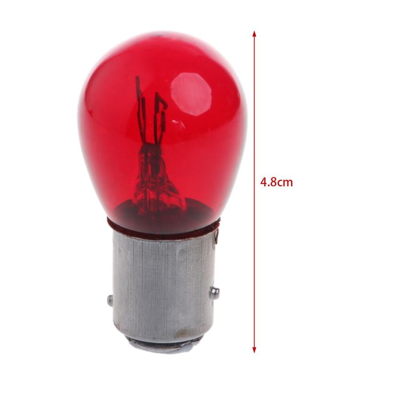 2PCS 5W S25 1157//Bay15d DC 12V Car Tail Lamp Braking Light Stop Indicator Bulbs
