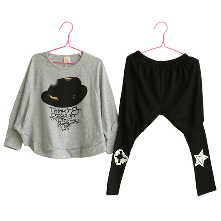 2018 Spring Autumn Children Clothing Set girls sports suit baby girl slong sleeve Shing Children Clothes Set kids cloth two pcs