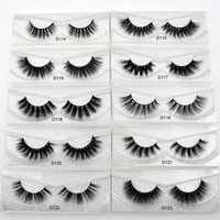 Visofree Eyelashes 3D Mink Lashes natural handmade volume soft lashes long eyelash extension real mink eyelash for makeup lashes