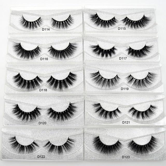 Visofree Eyelashes 3D Mink Lashes natural handmade volume soft lashes long eyelash extension real mink eyelash for makeup lashes