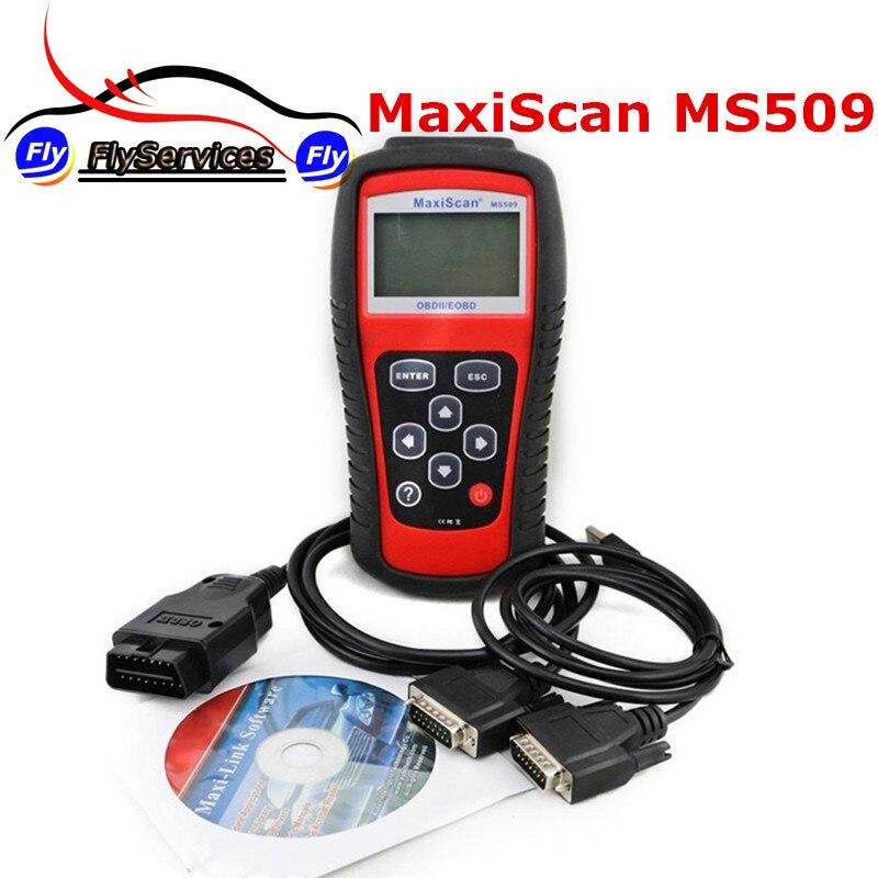 Цена за Высокая Qualtiy MaxiScan MS509 Сканер MS 509 Авто Код Сканер MaxiScan 509 Code Reader Быстрая Доставка