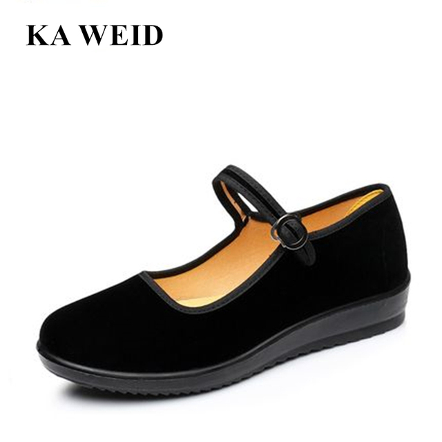 2017 Mary Janes Ladies Flats Buckle Strap Comfortable Women Shoes Round Toe  Solid Casual Shoes Plus
