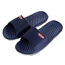 Men's Shoes footwear Solid Flat Bath Slippers Summer Indoor & Outdoor Slippers sapato masculino Male Home flip-flops A0