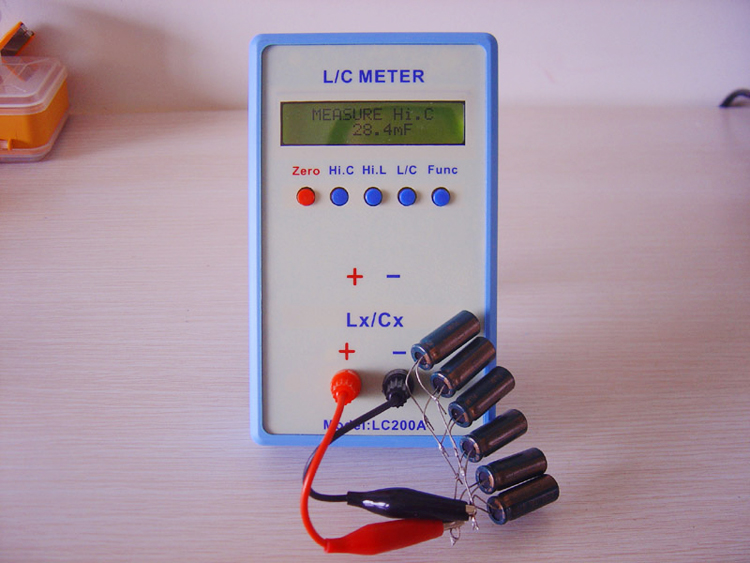Fast arrival LC200A Digital Multimeter L/C Meter 0.01 pF - 10uF,0.001 mH - 100H