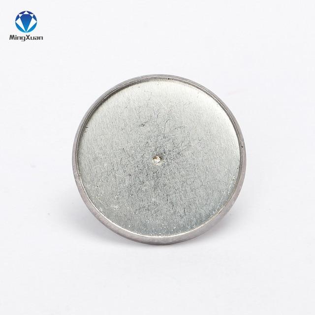 Купить серьги гвоздики из нержавеющей стали с кабошоном 10 мм 20 шт картинки цена