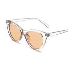 2018 Nova Moda Bonito Senhoras Sexy Olho de Gato Óculos De Sol Das Mulheres  Da Marca Do Vintage Pequeno Óculos de Sol Feminino L.. 327f006cc3
